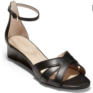🌟NWT🌟COLE HAAN Hanna Grand Wedge Leather Sandals
